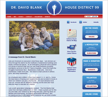 Vote Blank Website