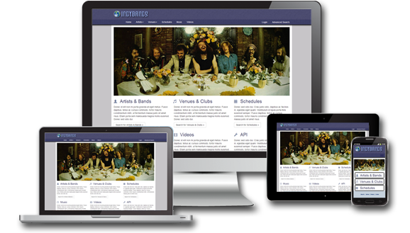 Indianapolis Responsive & Mobile Website Design Graphic